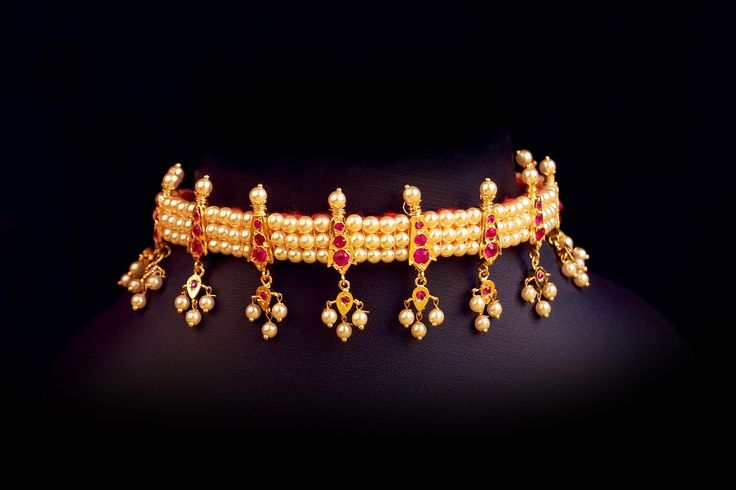 chinchpeti Maharashtrian traditional jewellery